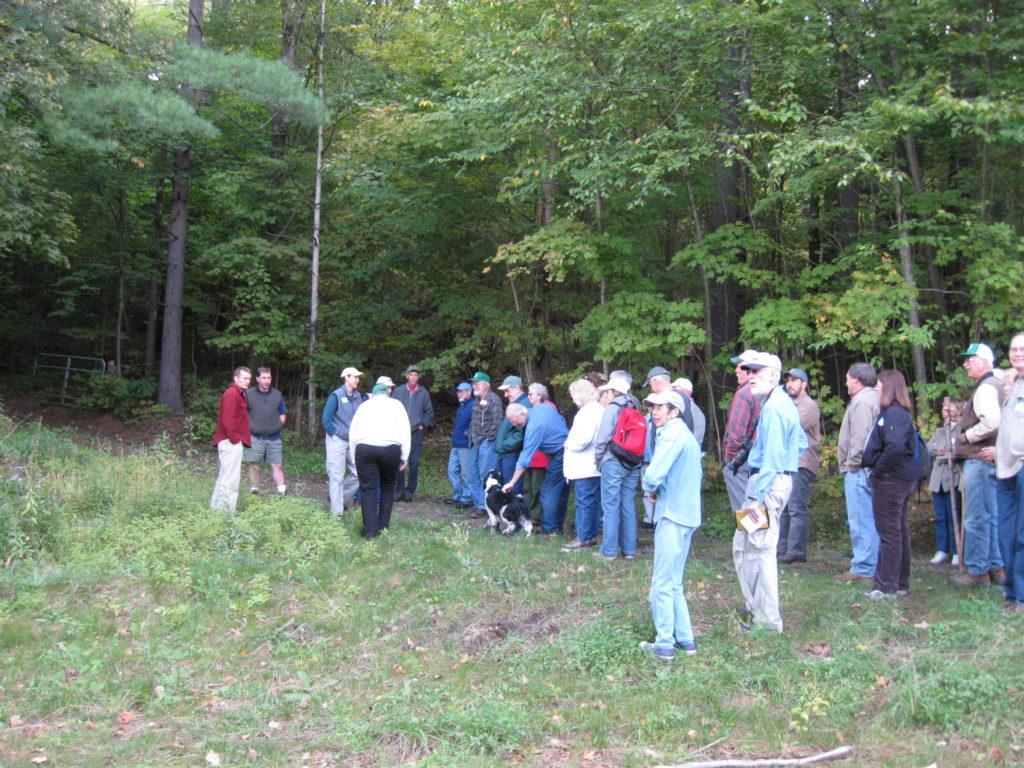 Woods Walk @ Benoit Family Tree Farm