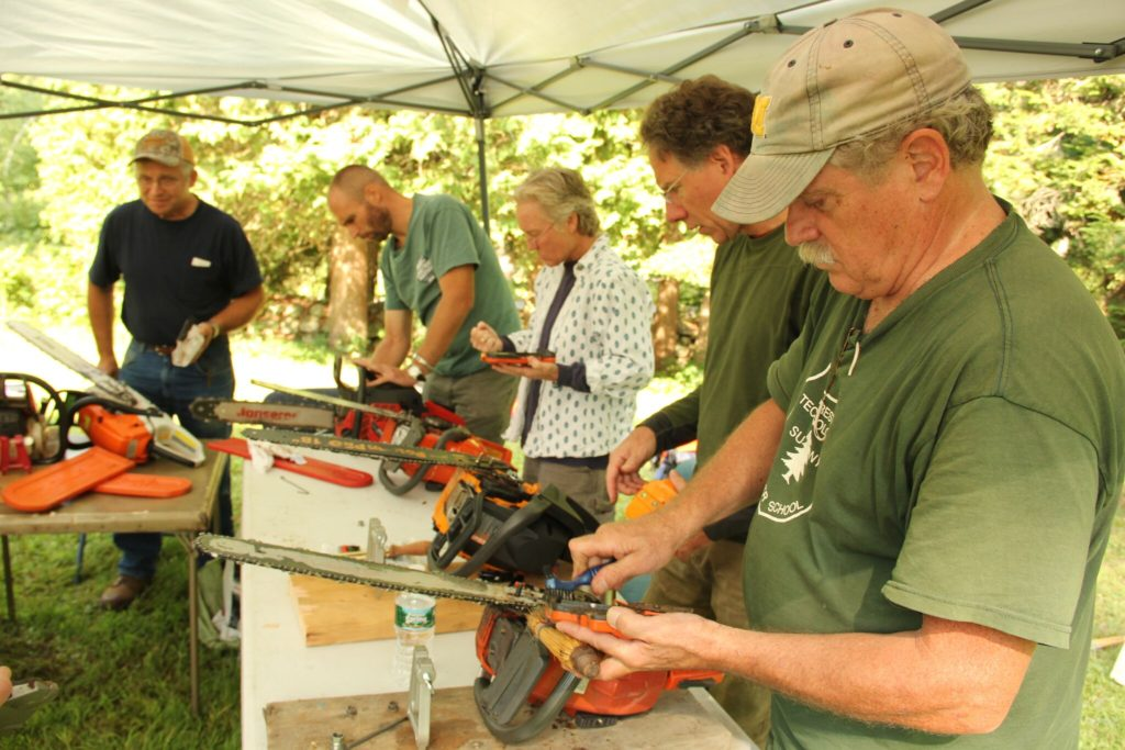 Chainsaw Safety and Maintenance workshop for landowners @ Grafton County Extension Office