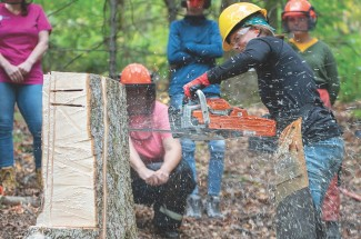 Chainsaw Safety Training for Women @ Society for Protection of New Hampshire Forests